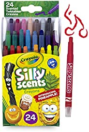 Silly Scents Twistables Crayons, Sweet Scented Crayons, 24 Count