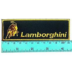 3 Patch Lamborghini Racing Sport Automobile Car Motorsport Racing Logo Patch Sew Iron on Jacket Cap Vest Badge Sign