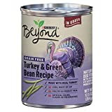 Purina Beyond Grain Free Natural, Turkey & Green Bean Recipe in Gravy Canned Dog Food, 12.5 oz, case of 12