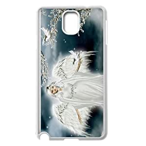 FOR Samsung Galaxy NOTE4 Case Cover -(DXJ PHONE CASE)-Angels in The Sky-PATTERN 6