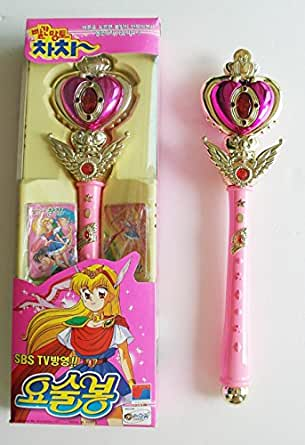 Cha Cha Magic Stick Wand Similar with Sailor Moon Wand Stick Collection Vintage