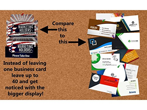 Amazon card cues business card displays promotional holders amazon card cues business card displays promotional holders for bulletin cord boards or stand 12 pack 12 pack viarity pack office products colourmoves
