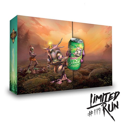 Limited Run #119: Munch's Oddysee Collector's Edition