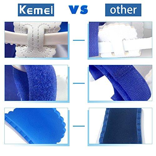 Kemei, un paio di cuscinetti e stecche per correzione dell'alluce valgo