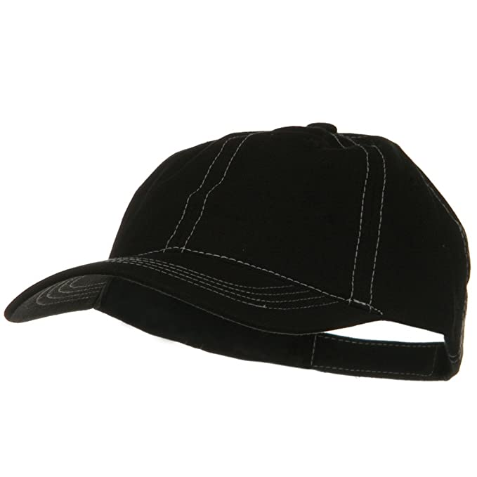 Image Unavailable. Image not available for. Color  DECKY Contra Stitch  Washed Polo Cap - Black White 8b267c98715e