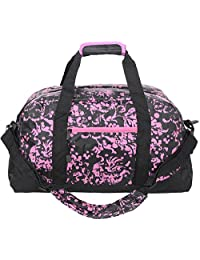 "Jetstream 20"" Pink Foldable Travel Luggage Duffel Gym Bag"