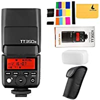 GODOX TT350S TTL Sony Camera Flash Speedlite 2.4G Wireless HSS 1 / 8000s GN36 Flash Light Sony Camera A7 A7R A77II A7S A6000 A6300 A6500 RX10