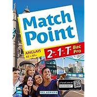 Match point 2de, 1re, Tle Bac Pro (Anglais) - Pochette élève
