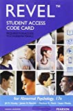img - for REVEL for Abnormal Psychology -- Access Card (17th Edition) book / textbook / text book