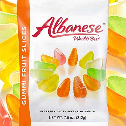 Gummy Fruit Slices 7.5 Oz Bag - No Gluten