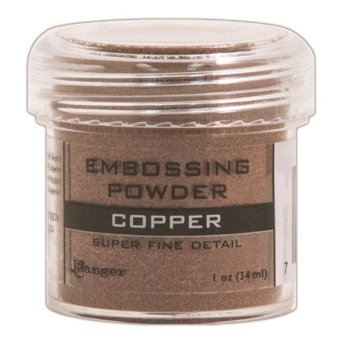 Ranger Embossing Powder, 0.5-Ounce Jar, Super Fine Copper