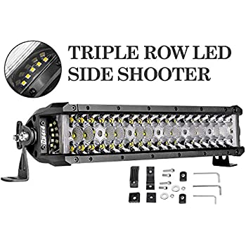 Amazon Com Dji 4x4 Led Light Bar 13 5 174w Triple Row