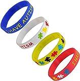 4 Pack - I Have Autism Children's Bracelet (Child Size)