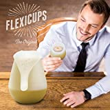 Flexicups Silicone Camping Wine Glasses 12 Oz Set