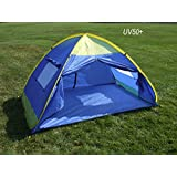 Genji InstantUp Pop Up Park and Beach Sun Shelter Tent with Door