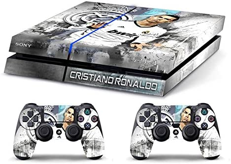 Skin PS4 HD CRISTIANO RONALDO REAL MADRID - limited edition DECAL COVER ADHESIVO playstation 4 SONY BUNDLE: Amazon.es: Videojuegos