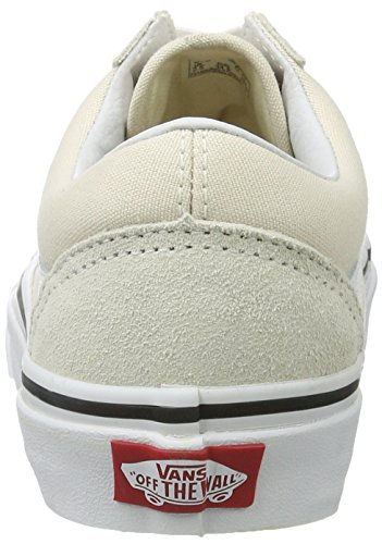 Vans Unisex Old Skool Zapatillas Clásicas De Abedul / True White