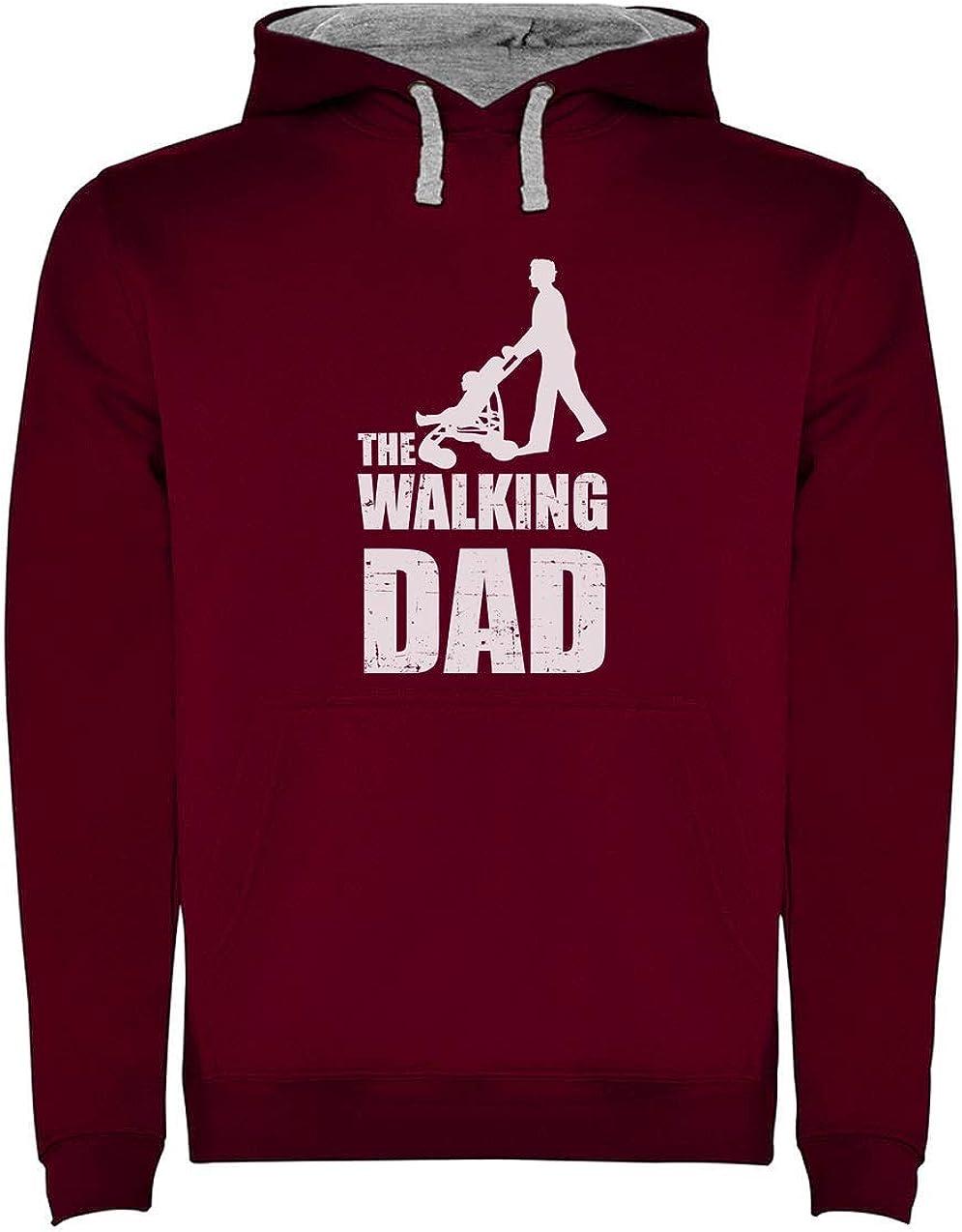 Green Turtle T-Shirts Sudadera con Capucha para Hombre- Regalos Originales para Padres Primerizos - The Walking Dad