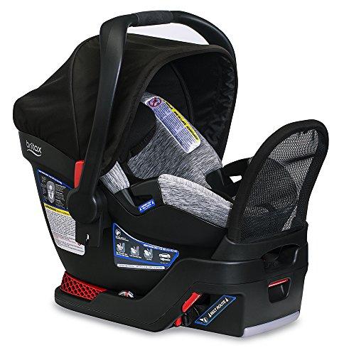 Infant Steel Car Seat Base - Britax Endeavours Infant Car Seat, Spark