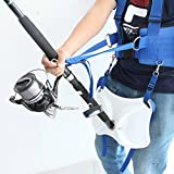 Pellor Offshore Stand Up 33.5'' / 38.2'' Fishing Fighting Belt Shoulder Back Harness Complete Package