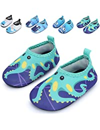 Baby Boys and Girls Barefoot Swim Water Skin Shoes Aqua Socks For Beach Swim Pool