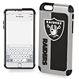 Forever Collectibles Dual Hybrid BOLD Series Case for iPhone 6/6S - NFL Oakland Raiders