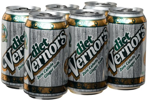Vernors Gingerale Diet, 6pk, 12 oz