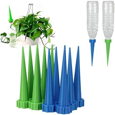 1 neue Automatische Garten Konus Bewässerung Spike Pflanze Blumen Waterers Flasche Bewässerungssystem zufällige Farben