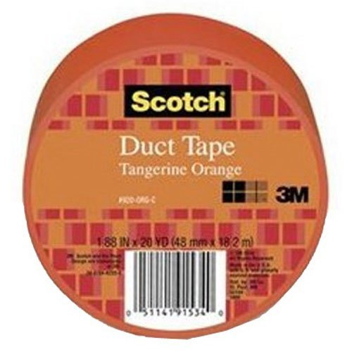 Scotch Duct Tape, Tangerine Orange, 1.88-Inch by 20-Yard]()