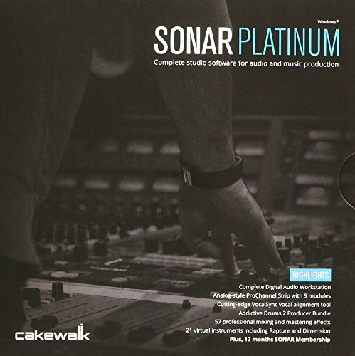 Cakewalk SONAR 10-CSPT1.00-1RR -Channel Multitrack Recording Software - Cakewalk Sonar Software