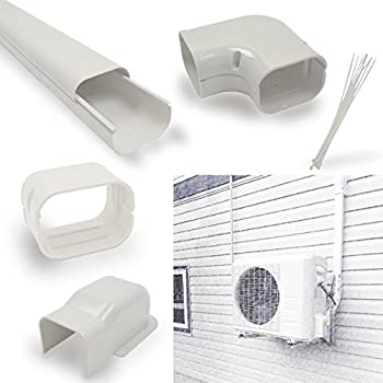 Amazon Com Decorative Pvc Line Cover Kit For Mini Split