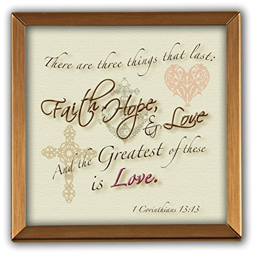 Cathedral Art GP307 Faith, Hope and Love Copper - Accent Wall Ideas