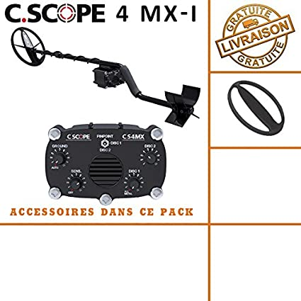 C-scope. Detector de metales CS 4MX con protege disco