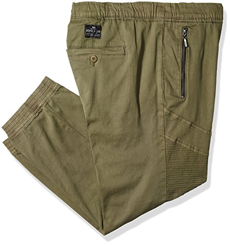 Ecko Unlimited Men's Moto Jogger, Army, 3XB
