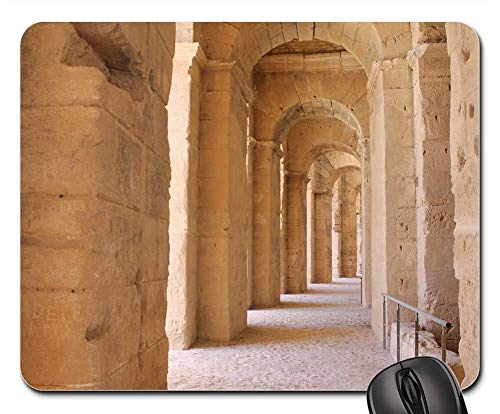 El Jem Amphitheater The Ruins of The ()