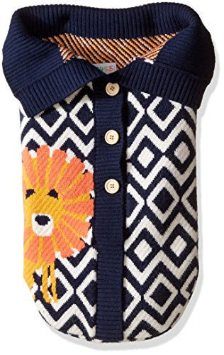 Toby & Company Baby Nygb Safari Collection Lion Snuggle Sack, Navy, 30