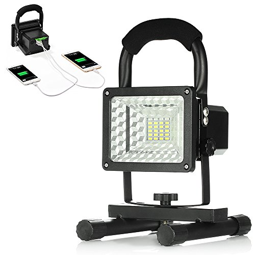15W-24LED-Spotlights-Work-Lights-Outdoor-Camping-Lights-Built-in-Rechargeable-Lithium-Batteries-With-USB-Ports-to-charge-Mobile-Devices