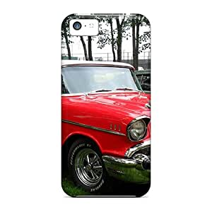 Premium 1957 Chevrolet Belair Convertible Back Cover Snap On Case For Iphone 5c
