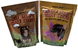 Trader Joes – Dog Treat Jerky Combo 2 Pack 12 total OZ's -Beef Jerky + Chicken Jerky – Made in USA – High Quality Tastey Treats – Dogs Love Them. Review