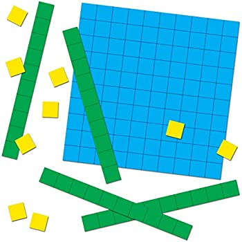 amazon com carson dellosa base ten blocks cut outs 120497 rh amazon com base ten block clipart Base Ten Rods Clip Art