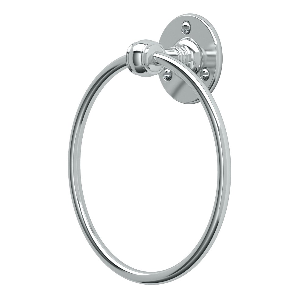 Gatco 4412 Cafe Towel Ring, Chrome