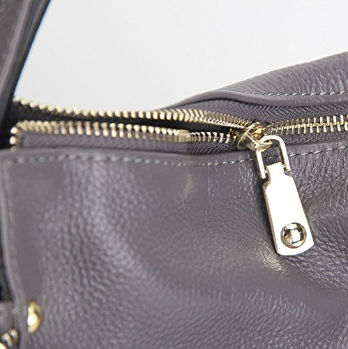 Purse Heshe Grey Body Ladies Bags Womens Bag Satchel Totes Leather and for Handbags Shoulder Handle Top Handbag Cross Designer wrzw7qHf