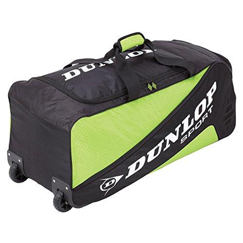 Dunlop Tennistasche Biomimetic Tour Wheelie Holdall, Grün, 75 x 32 x 12 cm, 40 Liter, 817166