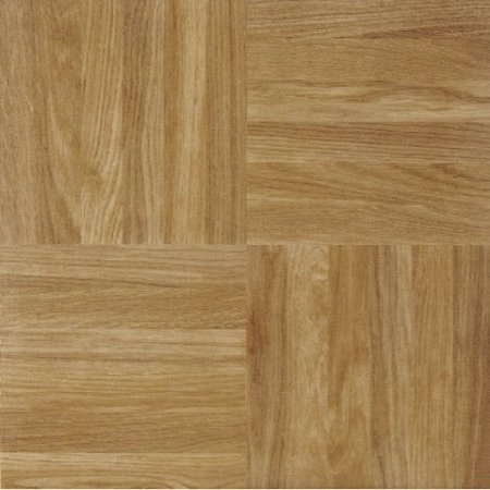 "Achim STSQP70220 Sterling Square Parquet Self Adhesive Floor Tile 12"" x 12"" from Achim"
