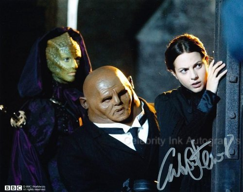 CATRIN STEWART as Jenny - Doctor Who Genuine Autograph from Celebrity Ink