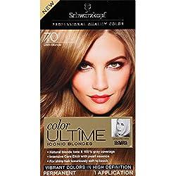 Schwarzkopf Ultime Hair Color Cream, 7.0 Dark Blonde