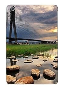 Defender Case For Ipad Mini/mini 2, Beautiful City Bridge Pattern, Nice Case For Lover's Gift