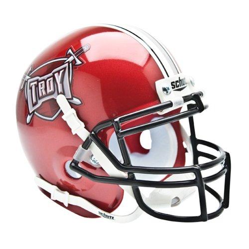 Schutt Sports Troy Trojans Ncaa Authentic Mini 1/4 Size (Schutt Ncaa Genuine Football Helmet)