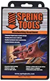 SpringTools WWA996 4 Piece Woodworking Set with Center Punch, Nail Set, Combo Nail Set, Self Centering Brad Setter, Self Centering Center Punch