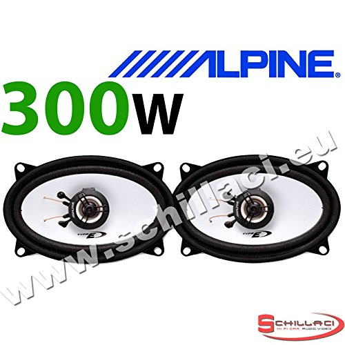ALPINE SXE-4625S 4x6 10 x 15cm 2 way 300 Watts Car /& Van Audio Coaxial Speakers
